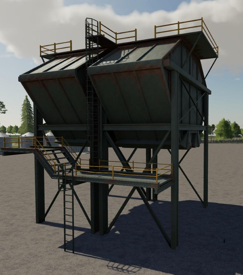Silo Multifruits V2.0.0.0 FS19 - FS19 Mods