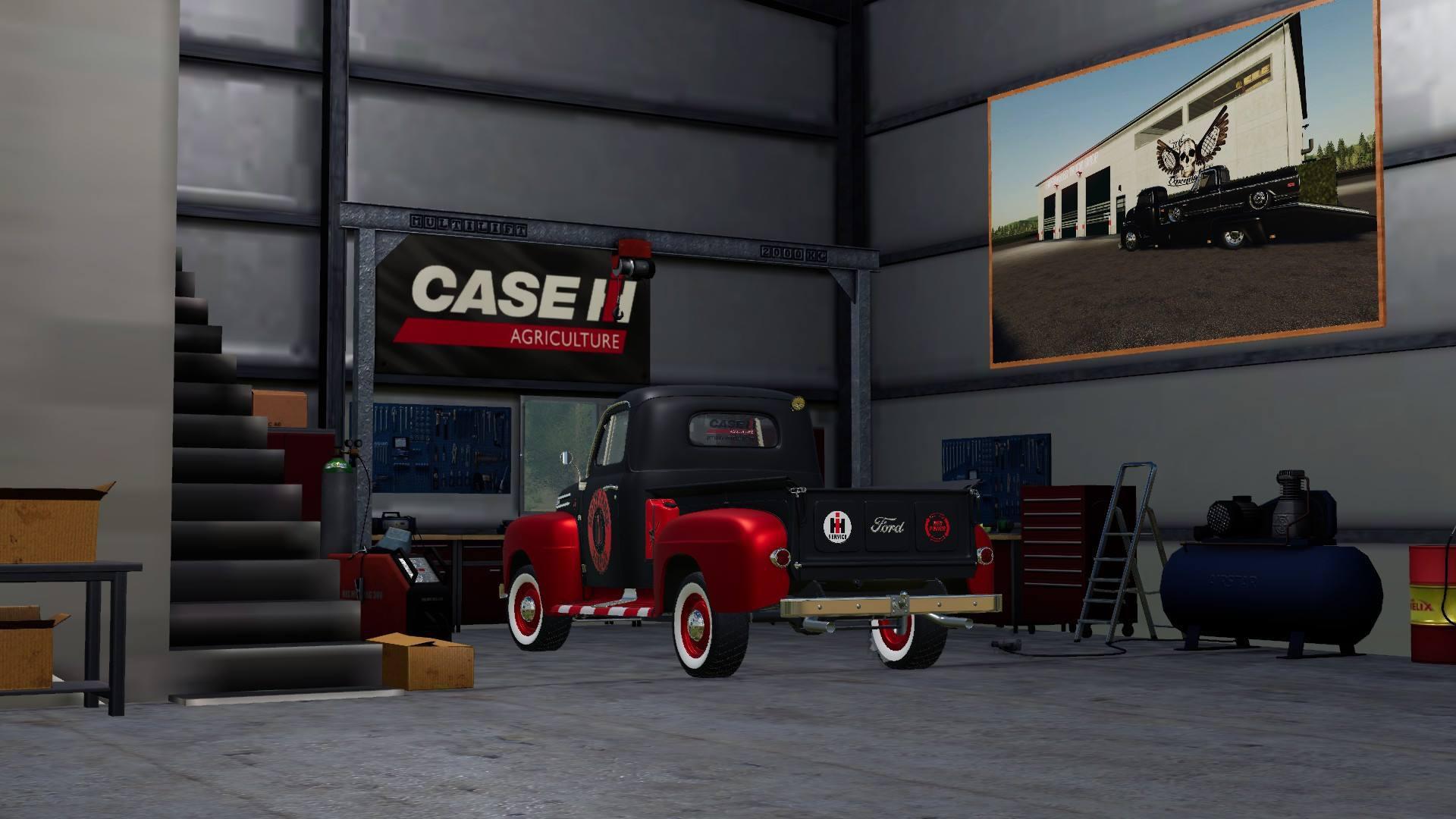 camion de service ford    fs fs mods farming simulator  mods