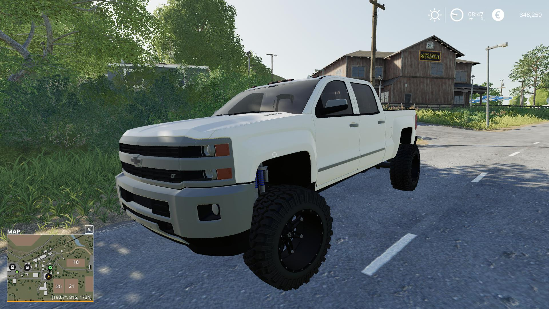 Chevy 2500hd v1.0.0.0 FS19 2016 - FS19 Mods | Farming ...