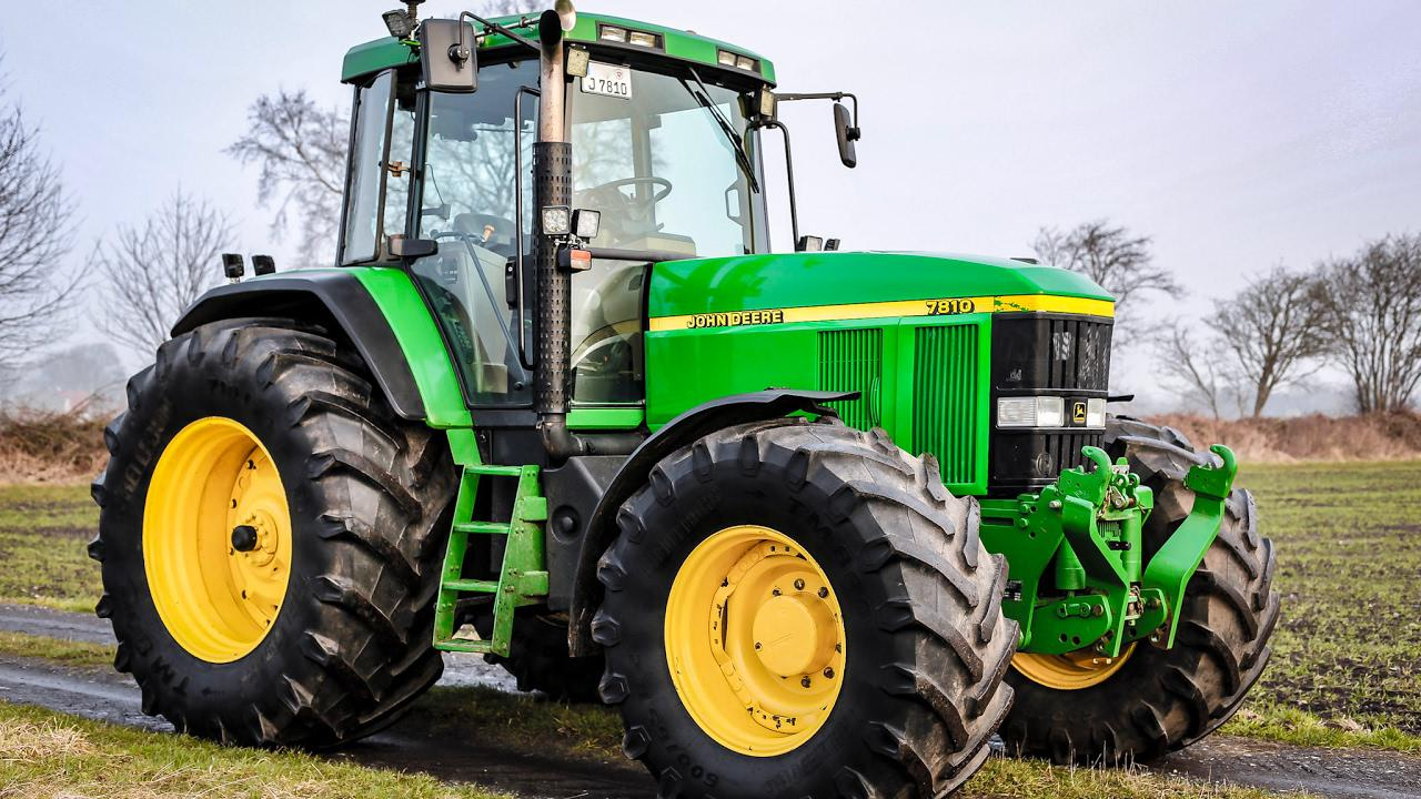 John Deere 7810 v4.0 FS19 - FS19 Mods | Farming Simulator 19 mods