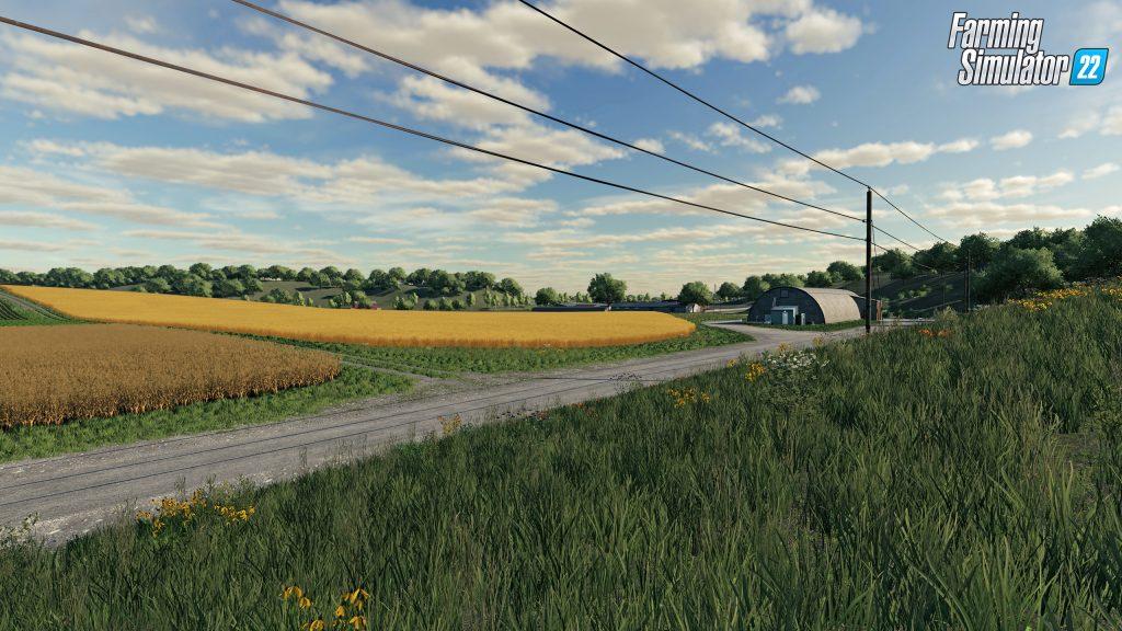 Farming Simulator 22: Nouvelle carte de départ des États-Unis