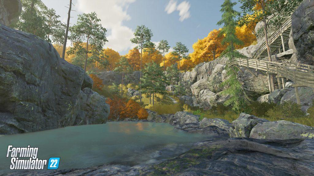 Gameplay saisonnier dans Farming Simulator 22 - nouvelles captures d'écran et informations!